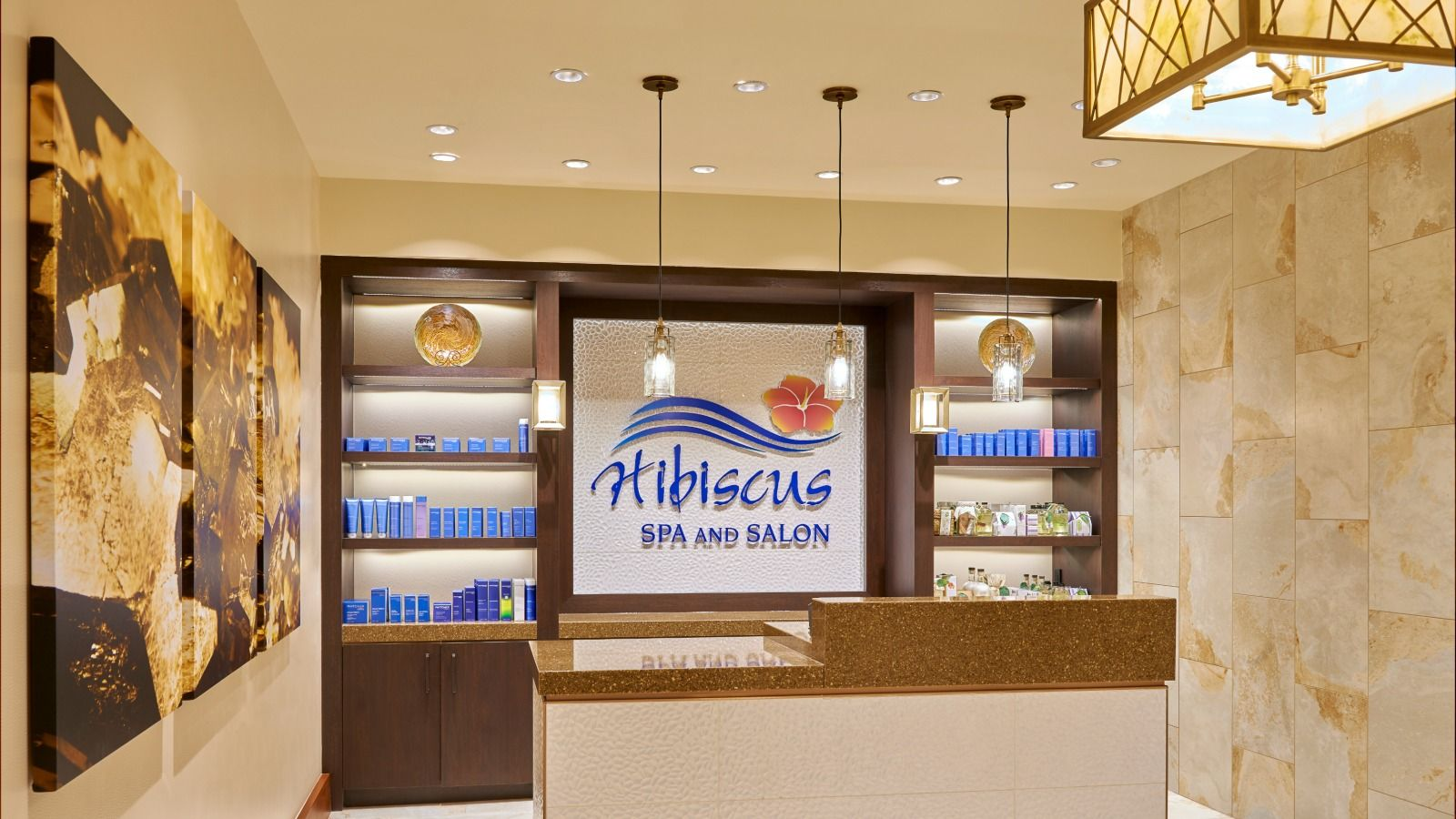 Hotel Amenities - Hibiscus Spa and Salon